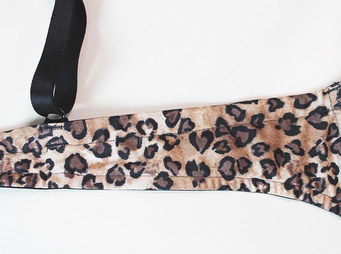 【antigel】【アンティジェル】3666 モールドカップブラ Leopard