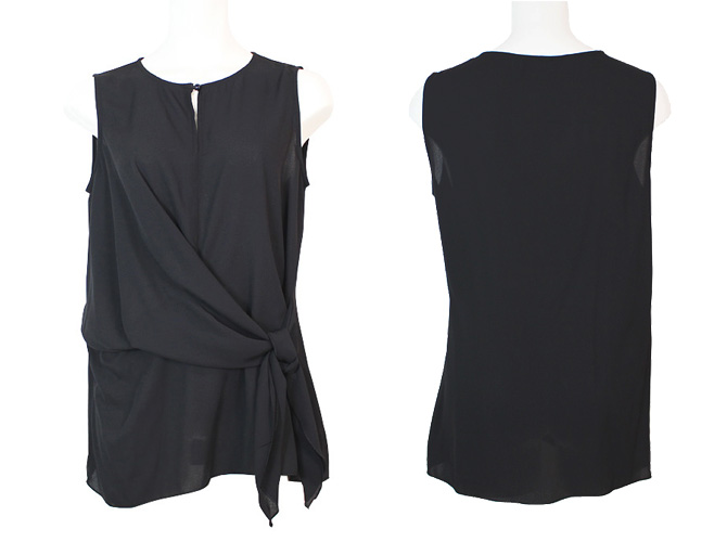 【ARIANNE】【アリアンヌ】5602 トップス Black