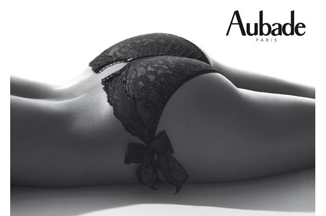 【Aubade 】【オーバドゥ】《Boite a Desir》P020 オープンアップビキニ