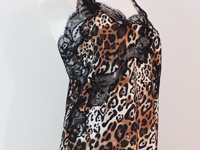 【COEMI】【コエミ】「INSTINCT」 161745  ナイトドレス Leopard