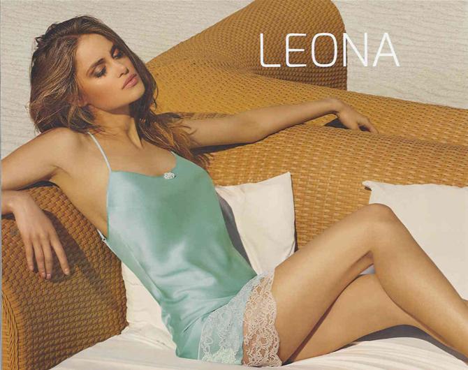 【COEMI】【コエミ】「LEONA」162763 シルクスリップ PORCELAIN