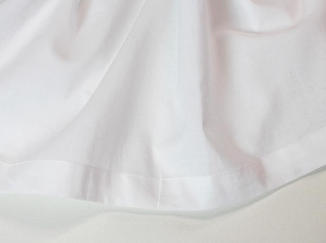 【cottonreal】【コットンリアル】GIGI  半袖 コットンナイティ WHITE