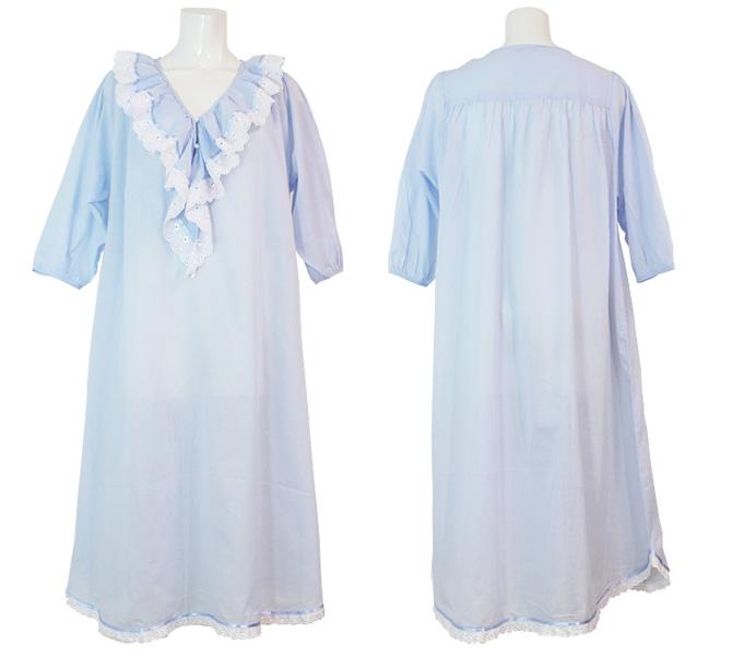 【cottonreal】【コットンリアル】TOBY  コットンナイティ BLUE