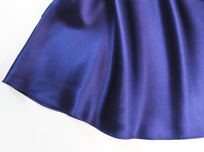 【Luna di Seta】【ルナ ディ セタ】630003 シルクキャミソール Night Blue