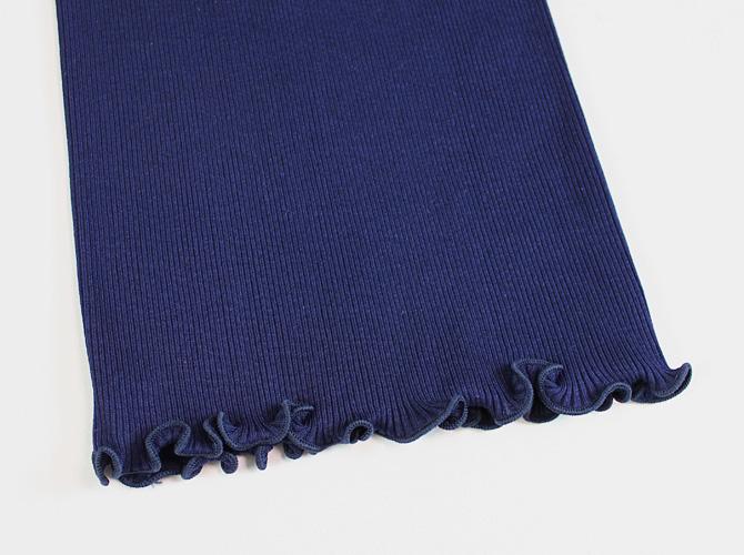 【Oscalito】【オスカリート】 3120 コットンリブ キャミソール BLUE(ネイビー)