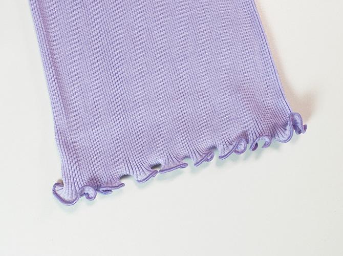 【 Oscalito【オスカリート】3162 コットンタンクトップ Lilac