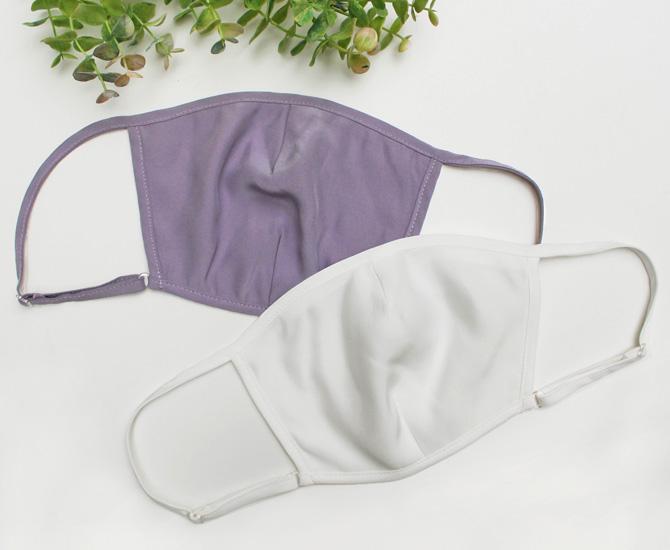 【la sakura】【ラ・サクラ】3090 シルク100% 洗えるシルクマスク ポケット付き立体タイプ